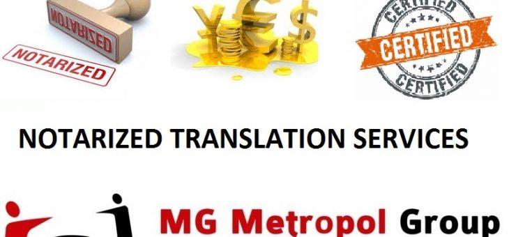 Notarized Translation Turkey