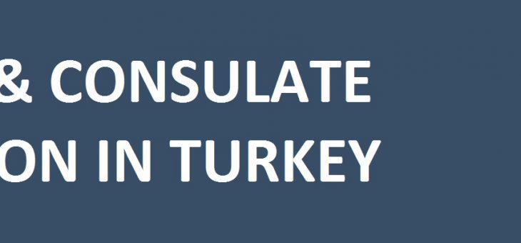 Apostille & Consulate Legalization Approval in Turkey
